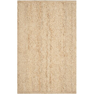 Greene Natural Solid Rug Rug Size: 4 x 6