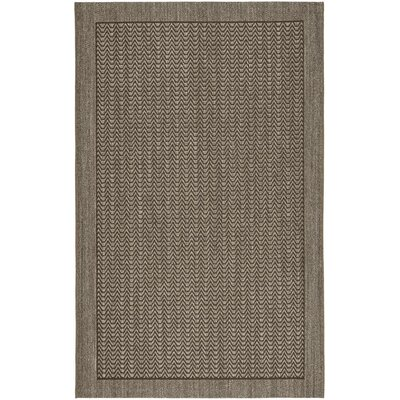 Rodanthe Silver Chevron Area Rug Rug Size: Rectangle 4 x 6