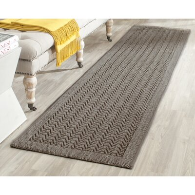 Rodanthe Silver Area Rug Rug Size: Rectangle 4 x 6