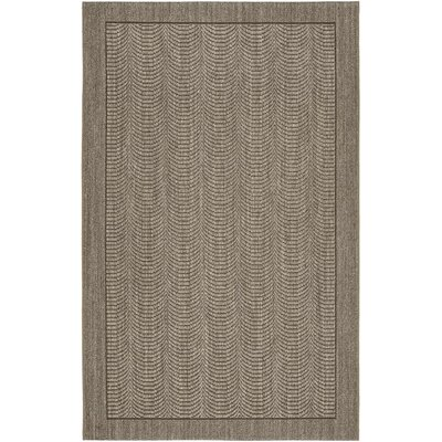 Rodanthe Slate Area Rug Rug Size: 10 x 14