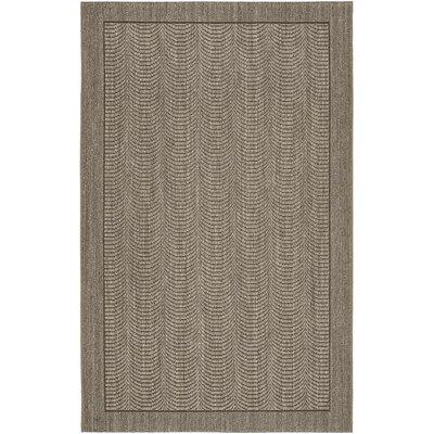 Rodanthe Slate Area Rug Rug Size: 3 x 5