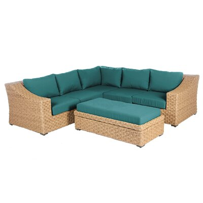 New St Johns Sunbrella Sectional Set Cushions - Product picture - 4119