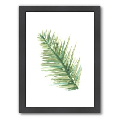 Palm 1 Framed Painting Print