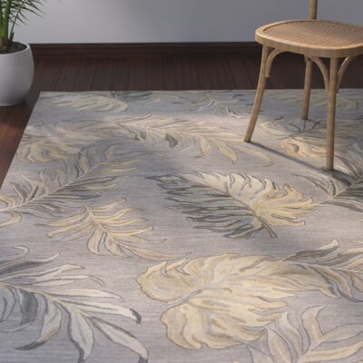Imala Hand-Tufted Gray Area Rug Rug Size: Runner 23 x 8