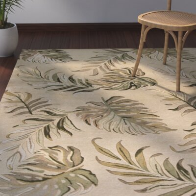Imala Hand-Tufted Sand Area Rug Rug Size: Rectangle 5 x 8