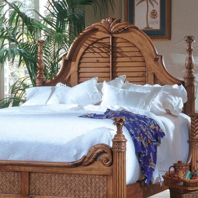 Palm Court Paradiso Panel Headboard Size: Queen