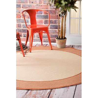 Bowers Indoor/Outdoor Area Rug Rug Size: Round 63
