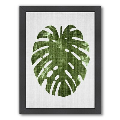 Tropical Leaf 1 Framed Graphic Art