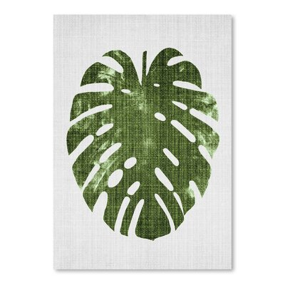 Tropical Leaf 1 Graphic Art