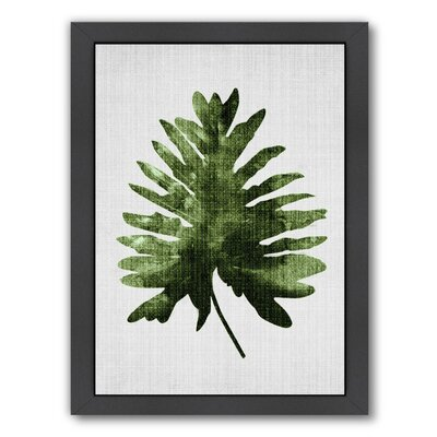 Tropical Leaf 2 Framed Graphic Art