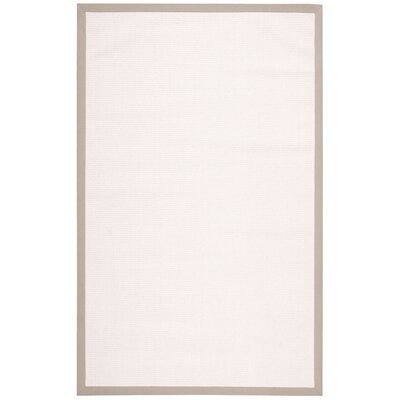 Newland Blanc Area Rug Rug Size: Rectangle 5 x 8
