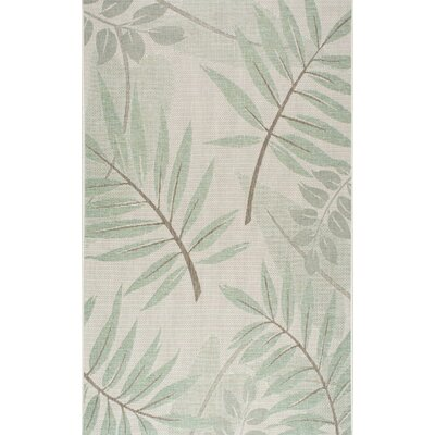 Rowley Green Indoor/Outdoor Area Rug Rug Size: Rectangle 710 x 112