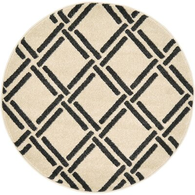 Seagate Beige Area Rug Rug Size: 5 x 8