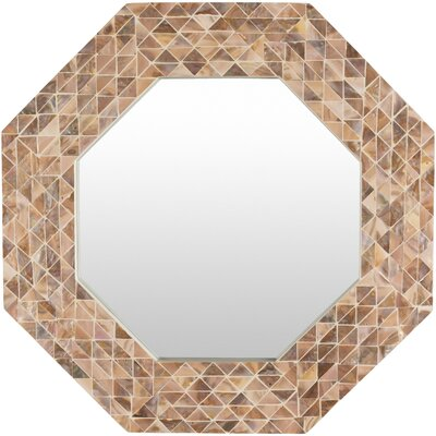 Seagrove Coastal Hexagon Mirror