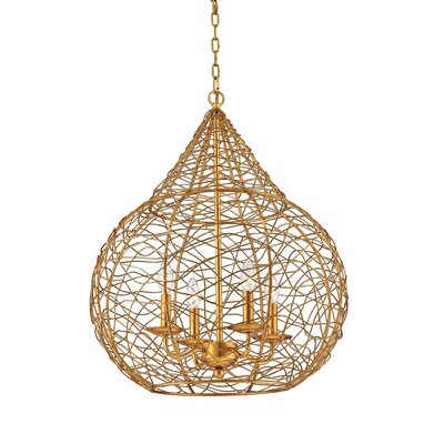 Stokesdale 4-Light Globe Pendant
