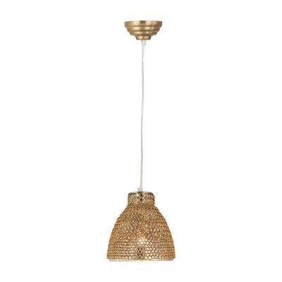 Stanfield 1-Light Mini Pendant Finish: Gold