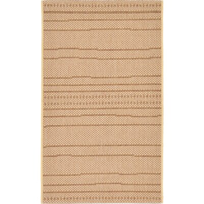 Paxton Tan Outdoor Area Rug Rug Size: 2' x 3'3