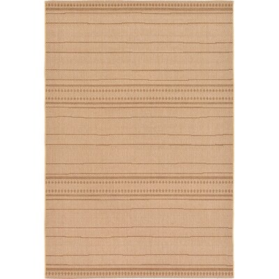 Paxton Tan Outdoor Area Rug Rug Size: 5' x 7'3