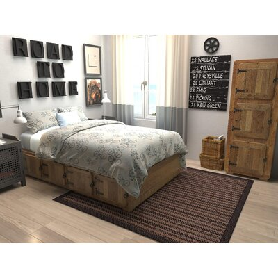 Islesford Brown Outdoor Area Rug Rug Size: 7 x 10