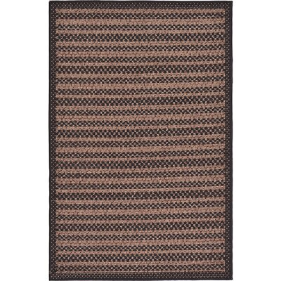 Islesford Brown Outdoor Area Rug Rug Size: 33 x 5