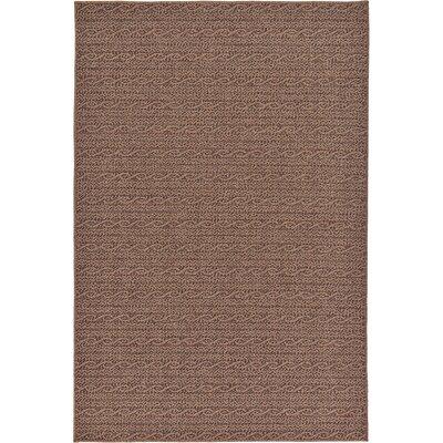 Robbinston Brown Outdoor Area Rug Rug Size: 53 x 8
