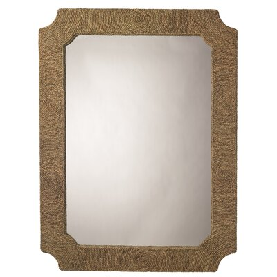 Rectangle Natural Seagrass Mirror