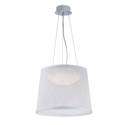 Carlisle 1-Light Mini Pendant Color: White