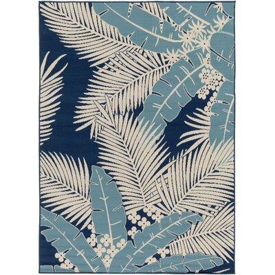 Bethel Ivory Indoor/Outdoor Area Rug Rug Size: 53 x 73