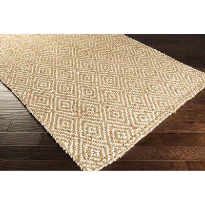 Bradford Hand-Woven Cream/Tan Area Rug