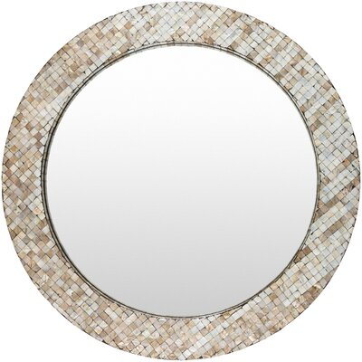 Round Coastal Wall Mirror