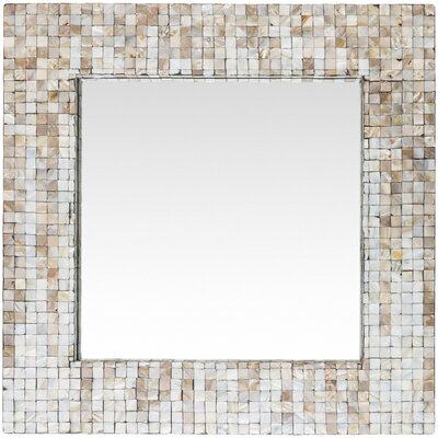 Square Coastal Wall Mirror