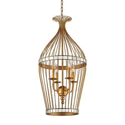 Ansonia 1-Light Foyer Pendant