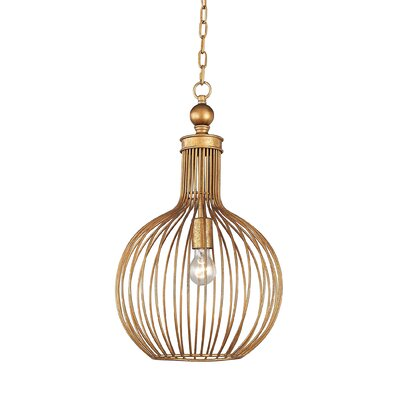 Ansonia 1-Light Globe Pendant