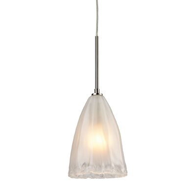 Mejorado 1-Light Mini Pendant Finish: Satin Nickel