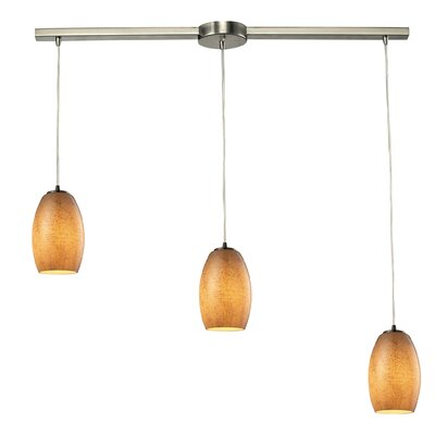 Hertford 3-Light Kitchen Island Pendant