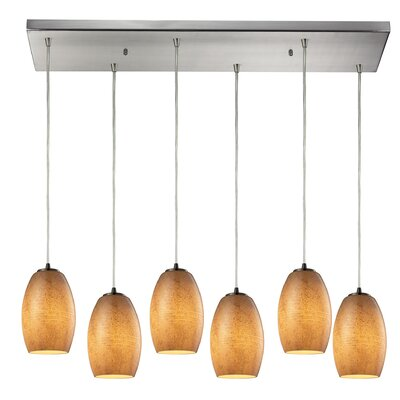 Hertford 6-Light Kitchen Island Pendant