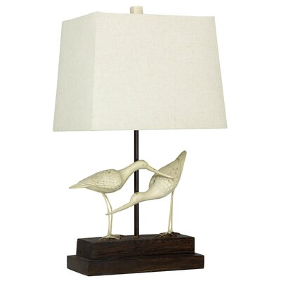"Glenva Sandpipers on Sand 28"" Table Lamp BAYI4651 33338664"