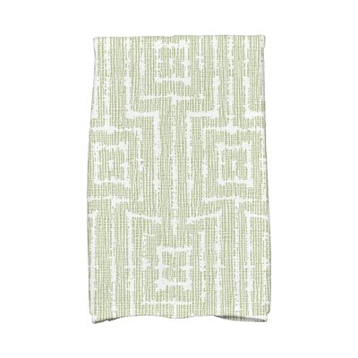 Hand Towel Color: Green