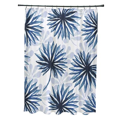 Costigan Shower Curtain Color: Blue