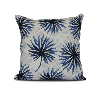 Costigan Spike and Stamp Outdoor Throw Pillow Size: 20 H x 20 W x 3 D, Color: Blue