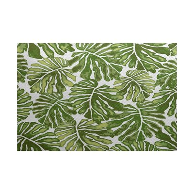 Thirlby Green Indoor/Outdoor Area Rug Rug Size: 2 x 3