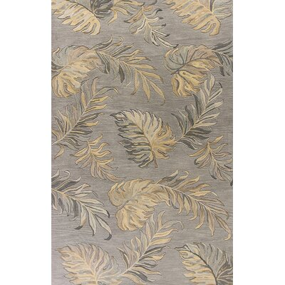 Antigua Hand-Tufted Gray Area Rug Rug Size: Runner 23 x 8
