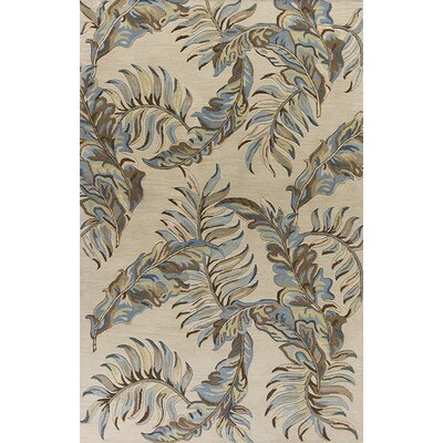 Antigua Hand-Tufted Pale Gray Area Rug Rug Size: Runner 23 x 8
