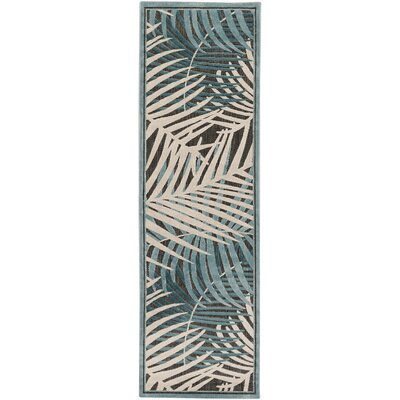 CaravelIvory Indoor/Outdoor Area Rug Rug Size: Runner 26 x 71
