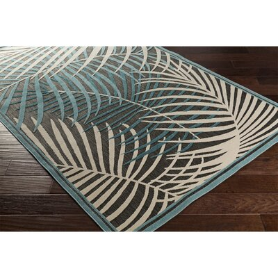 CaravelIvory Indoor/Outdoor Area Rug Rug Size: Rectangle 5 x 76