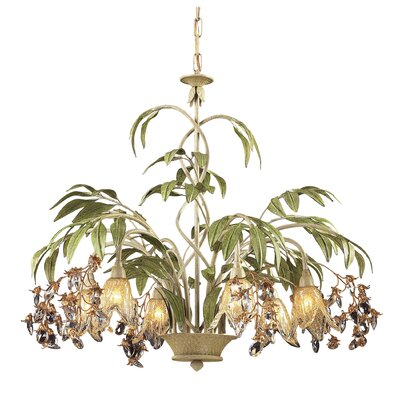 Evelyne 6-Light Crystal Chandelier