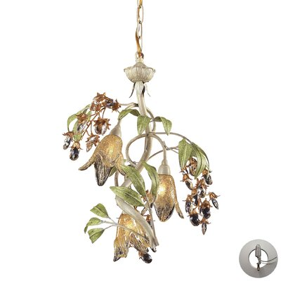Evelyne 3-Light Mini Chandelier