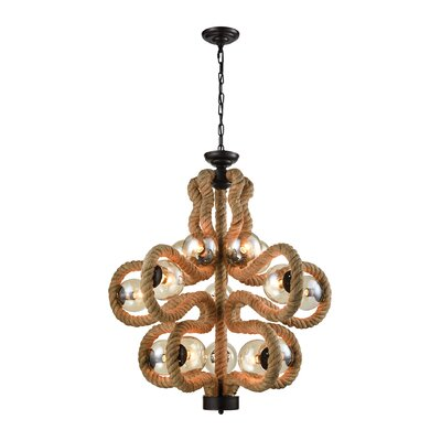 Popa 15-Light Candle-Style Chandelier