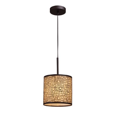 Pyla 1-Light Drum Pendant