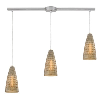 Saba 3-Light Kitchen Island Pendant